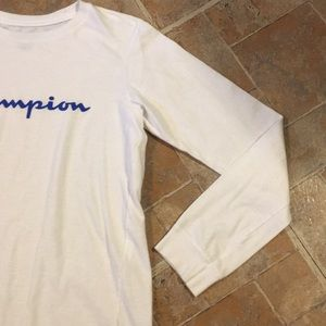 Champion Shirts & Tops - Champion long sleeve t-shirt size kids boys large